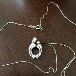 Kay Jewelers Jewelry - 14k white gold Diamond necklace